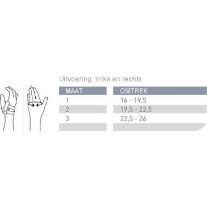 Push ortho duimbrace CMC (Duimorthese basisgewricht)
