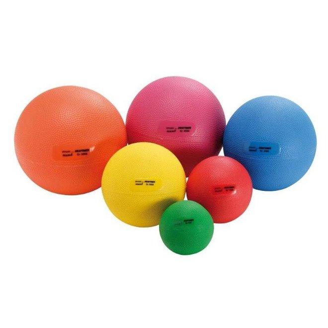 Verzwaarde bal / Medicine ball 0,5-5 kg