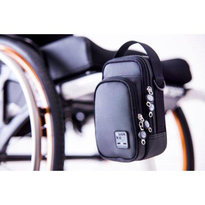 Compacte rolstoelstas