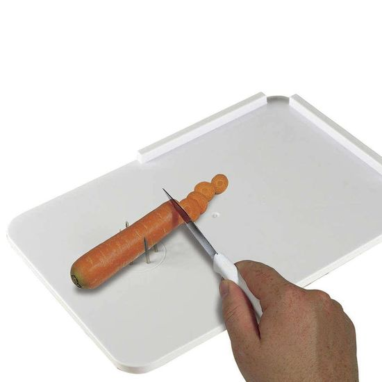 Snijplank met pinnen