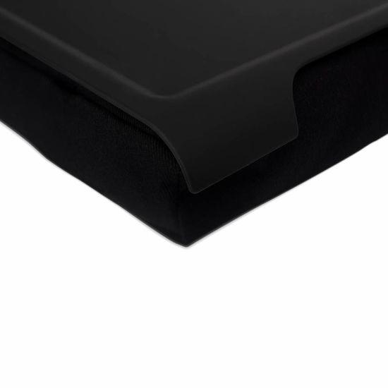 Bosign Mini laptray/ schoottafel antislip zand/antislip zwart