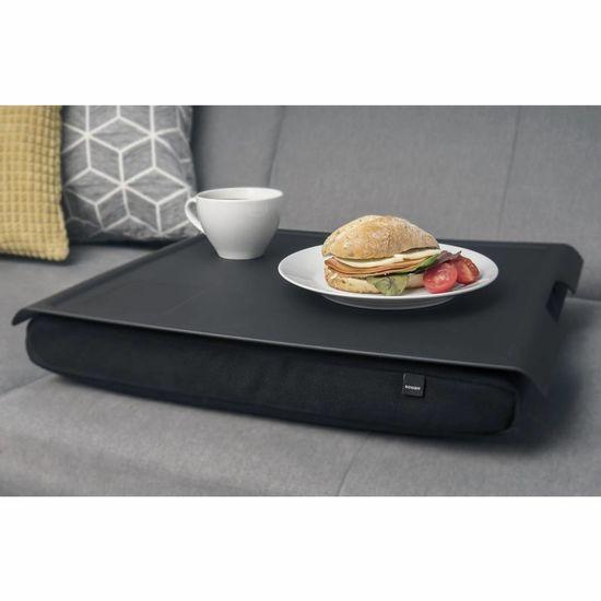 Bosign Laptray/schoottafel  zwart/zwart antislip