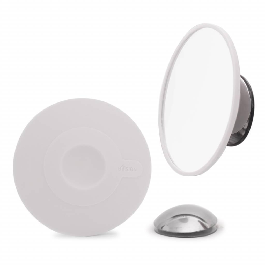 Afneembare magnetische spiegel vergroot 15x