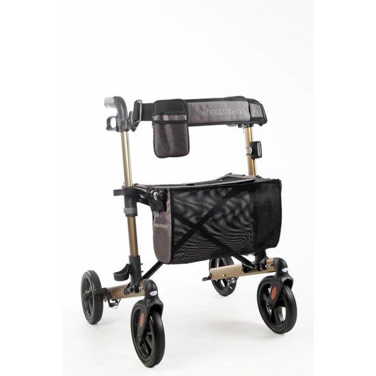 Wheelzahead TRACK rollator champagne