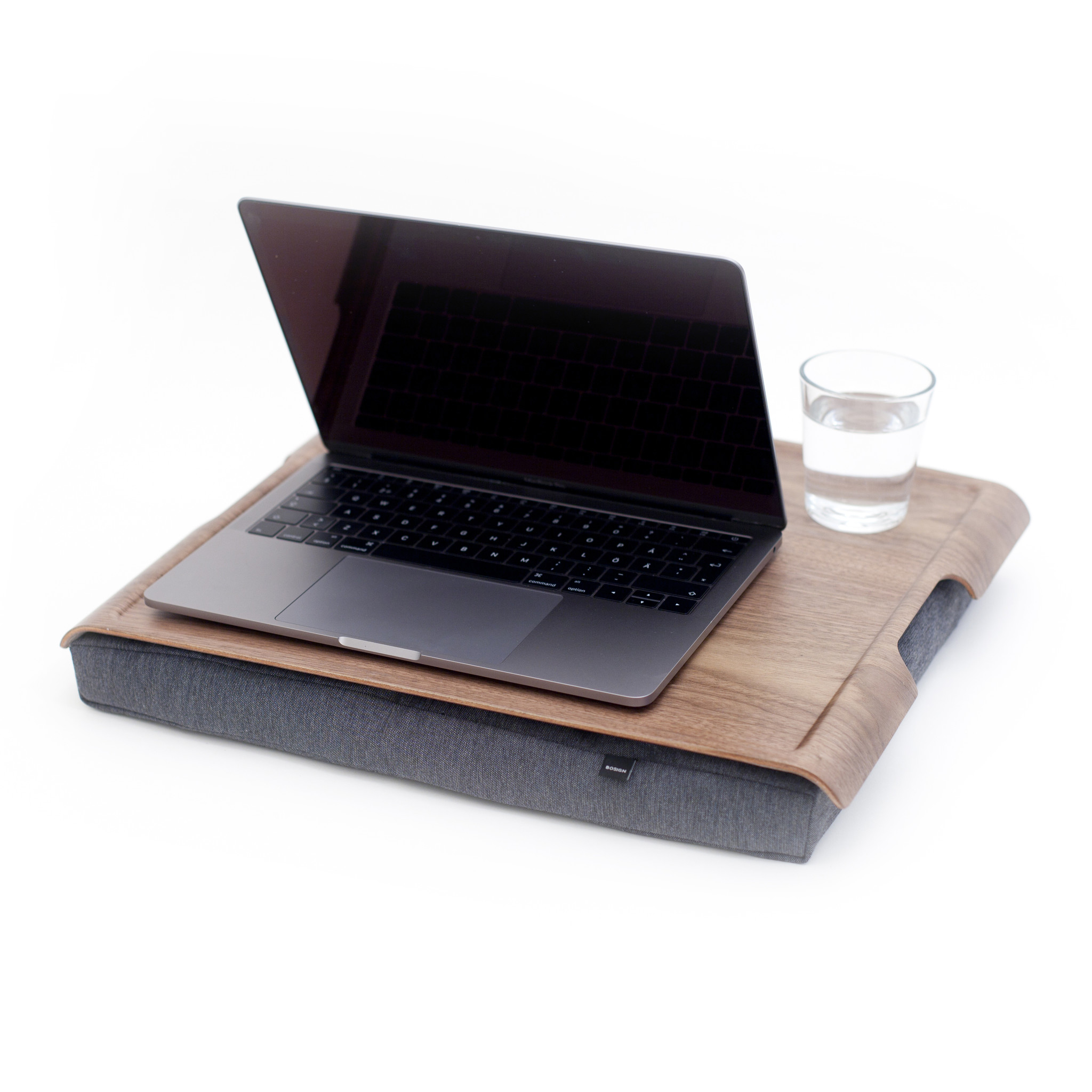 Laptray Walnoot/hout