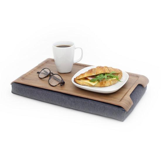 Bosign Mini laptray/ schoottafel walnoothout