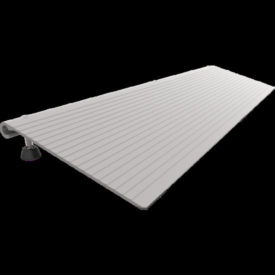 Rehasense Pondus aluminium verstelbare drempelhulp 3-7 cm hii==oog