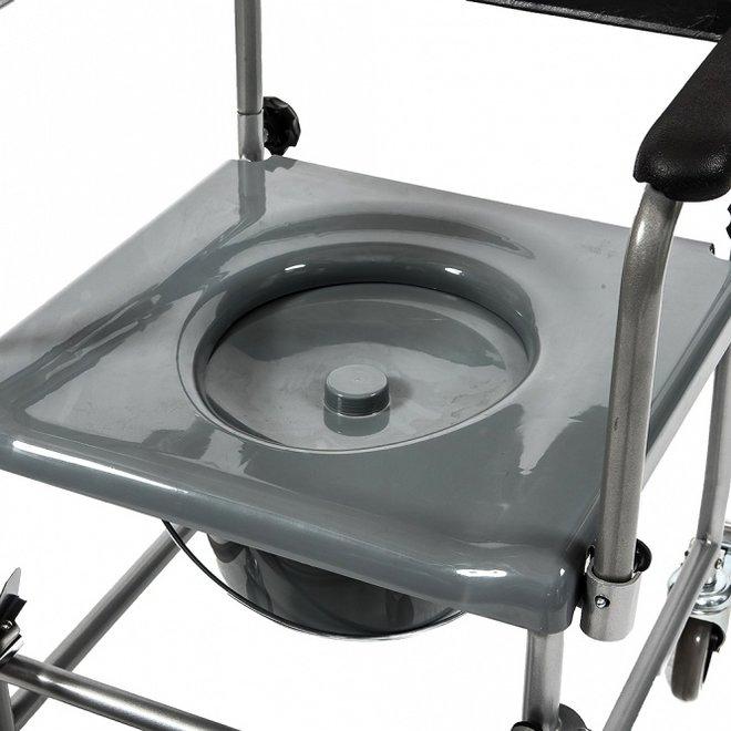 Standaard toiletrolstoel