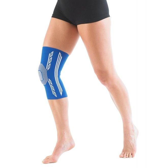 Airflow Plus knie support met siliconen patella kussen