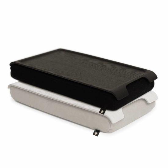 Bosign Mini Laptray zwart/wenge hout