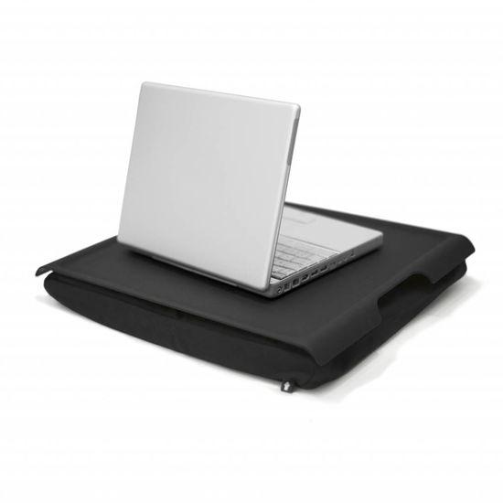 Bosign Laptray/schoottafel antislip zwart/zwart