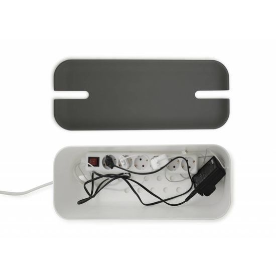 Bosign Cable organiser hideaway XL white/grey
