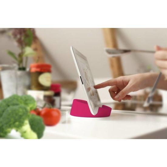 Bosign Tablet standaard/ kookboekhouder roze