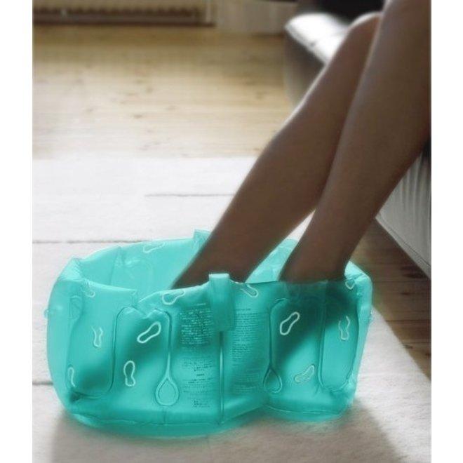 Opblaasbaar voetenbad