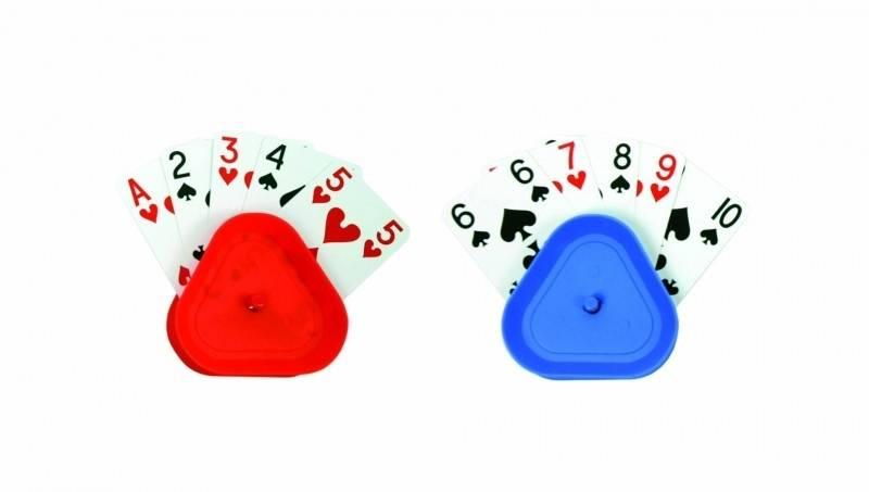 Speelkaartenhouder duo
