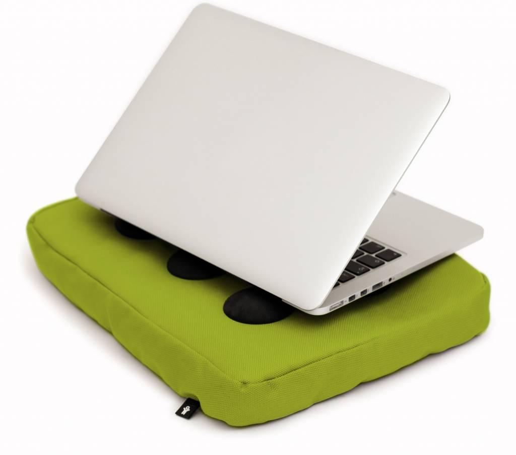 Surfpillow limoen groen/zwart polyester