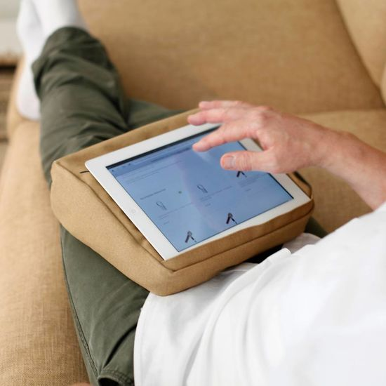 Bosign Tablet kussen kaki