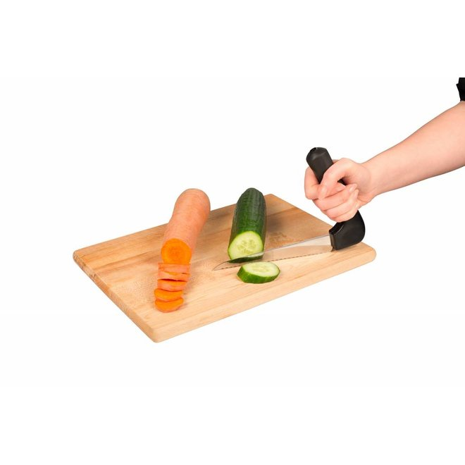 Groentemes gehoekt handgreep