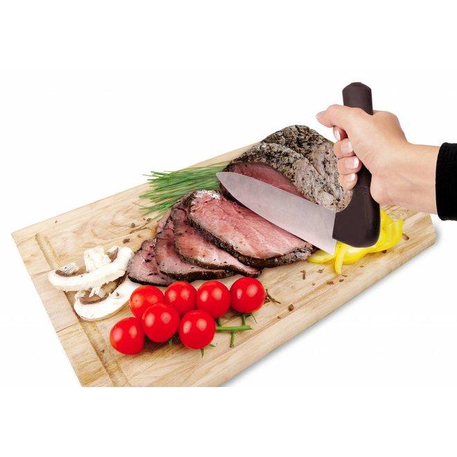 Vleesmes gehoekt handvat