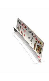 Speelkaartenhouder wit
