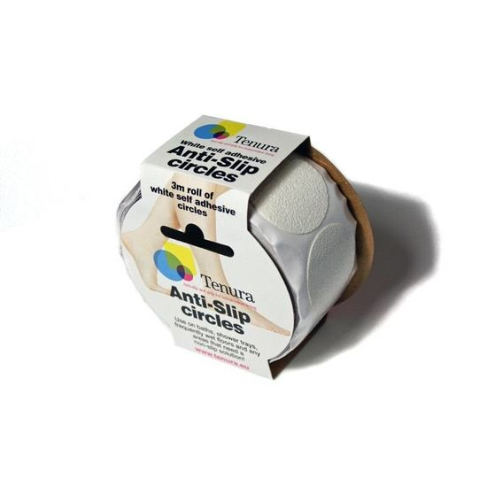 Tenura Antislip plak sticker rond