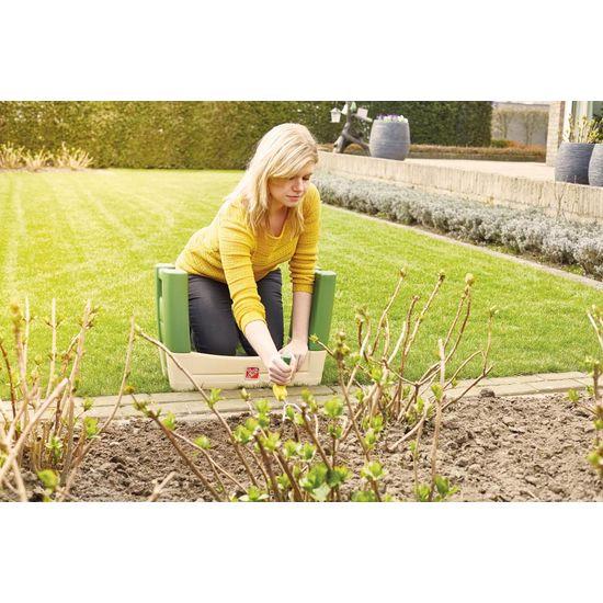 Vitility Lichtgewicht draagbaar tuinzitje met kniekussen