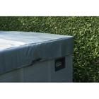 SpaPro Spa Pro Beschermhoes Grijs 235x235x25cm