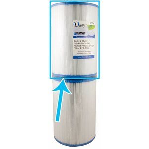 Darlly Spa Filter SC736 (Bovenkant)