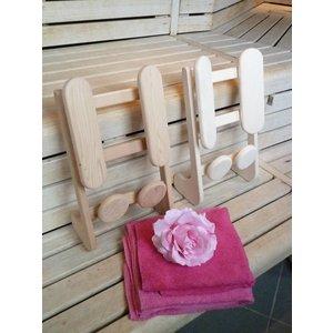 HaLu Red Cedar kleine ergonomische sauna rugsteun