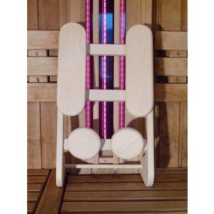 HaLu Espen kleine ergonomische sauna rugsteun