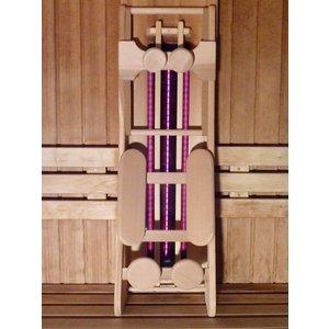 HaLu Red Cedar grote ergonomische sauna rugsteun