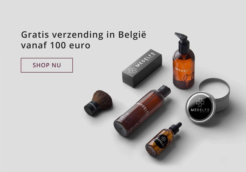 Gratis verzending in België vanaf 100€