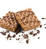 NEW Chocoladewafel Sinaassmaak omhuld met zwarte chocolade 6st.