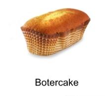 4 Chocolade botercakes