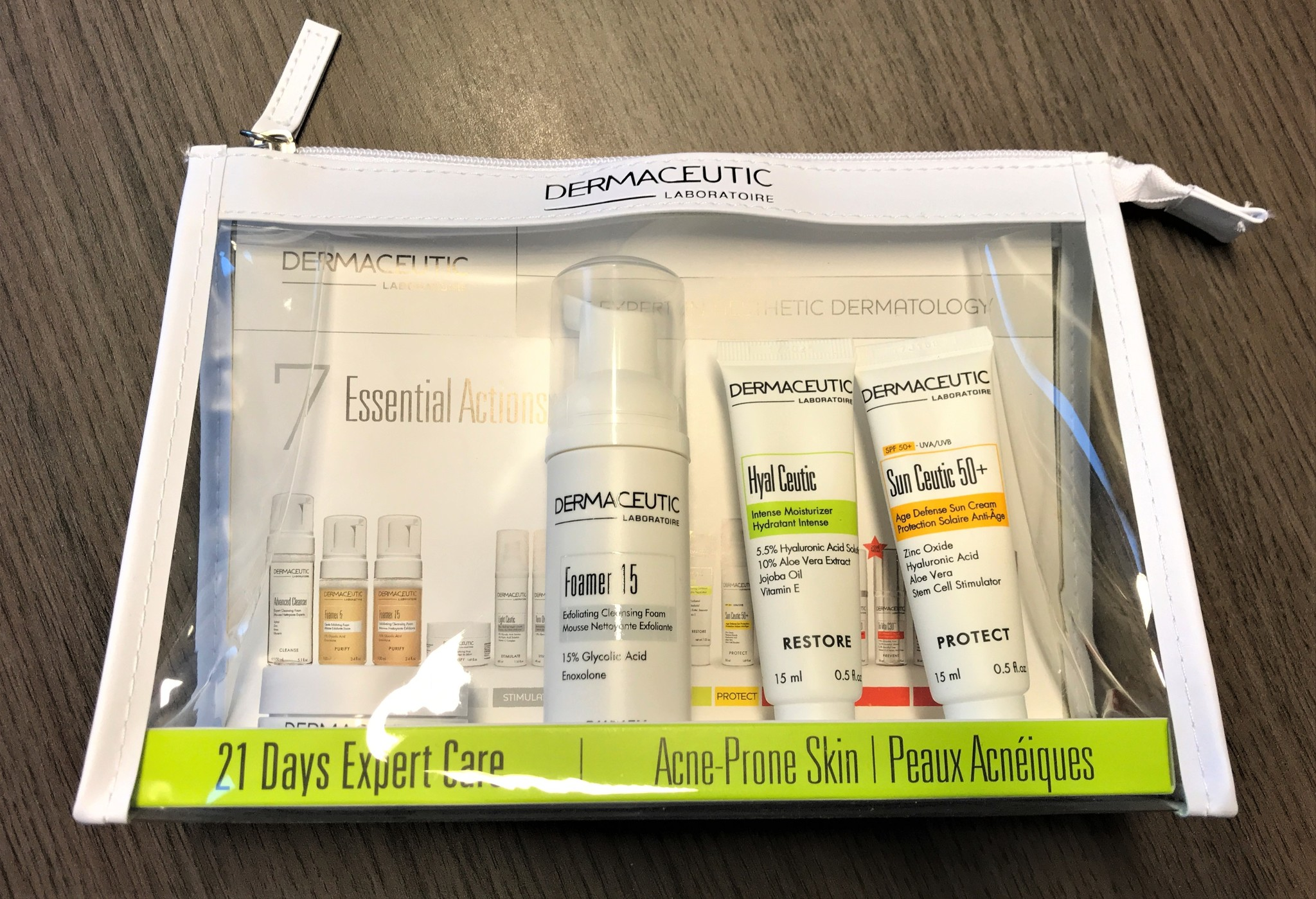 21 days expert care kit-Acné prone Skin