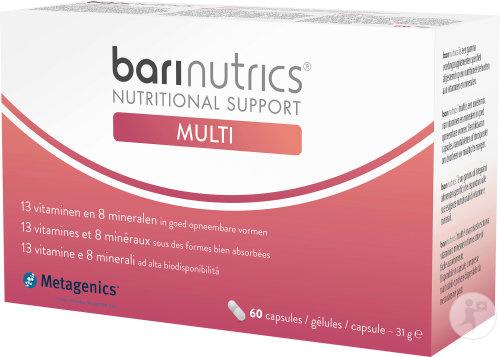 Barinutrics Multi V3 NFI 60 capsules blister(voor 1 maand)