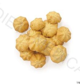 Eiwitrijke sterkoekjes vanille-citroen