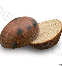 Eiwitrijk broodje met stukjes chocolade