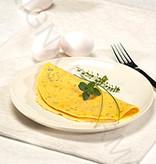 Omelet fijne Mediterrane kruiden