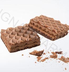 Wafelkoekje chocolade