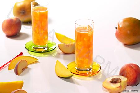 POT Fruitdrank perzik-mango