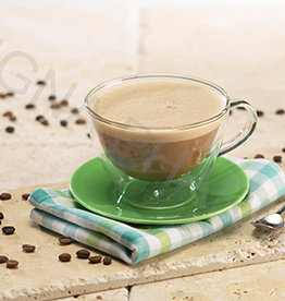 Warme cappuccino drank (pot)