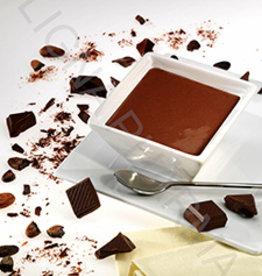 Zwarte chocolade dessert