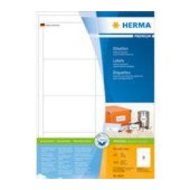 Herma Etiket Herma 4624 97x67,7mm premium wit 1600stuks