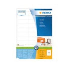 Herma Etiquette Herma Premium 4613 66x25,4mm blanc 6600 pièces
