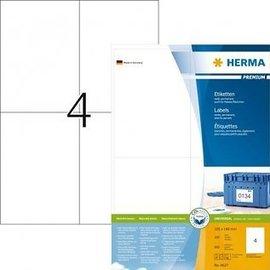 Herma Etiquette Herma Premium 4627 105x148mm A6 blanc 800 pièces