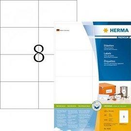 Herma Etiquette Herma Premium 4626 105x74mm blanc 1600 pièces