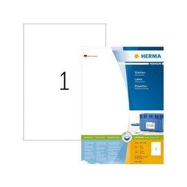 Herma Etiquette Herma Premium 4631 210x297mm A4 blanc 200 pièces