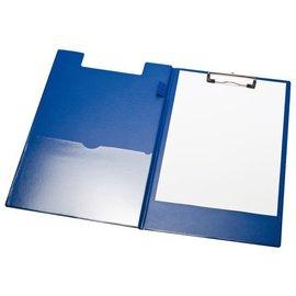 Papierklem Porte-bloc à pince LPC rabat A4/folio + boucle-stylo bleu
