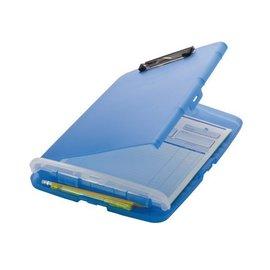 OIC Coffre porte-bloc à pince OIC 83322 plastique bleu